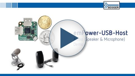 emPower-USB-Host: Audio (speaker & microphone) demo
