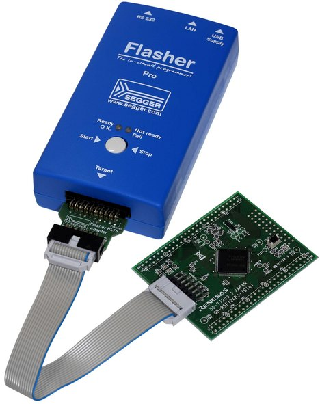 Flasher PRO programming RL78