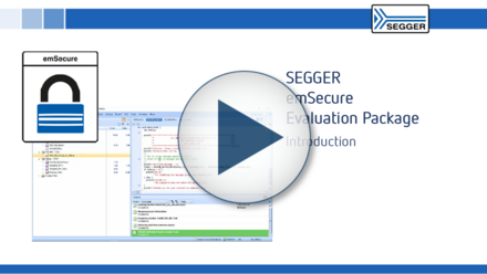 SEGGER emSecure Evaluation Package: Introduction