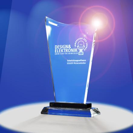 Design & Elektronik Award for emWin AppWizard