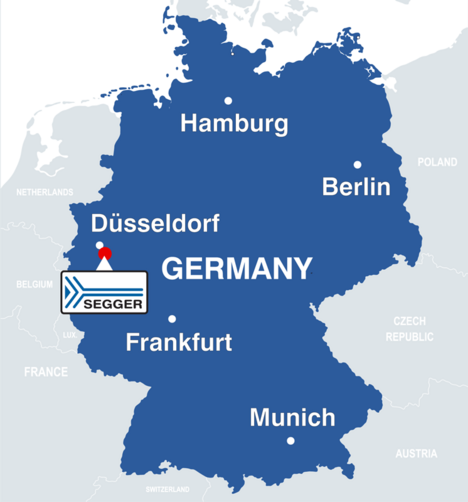 SEGGER Map Germany