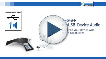 SEGGER emUSB-Device Audio: Enhance embedded devices with audio capabilities via USB