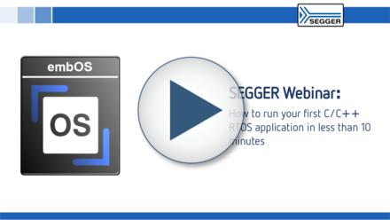 Webinar embOS RTOS application