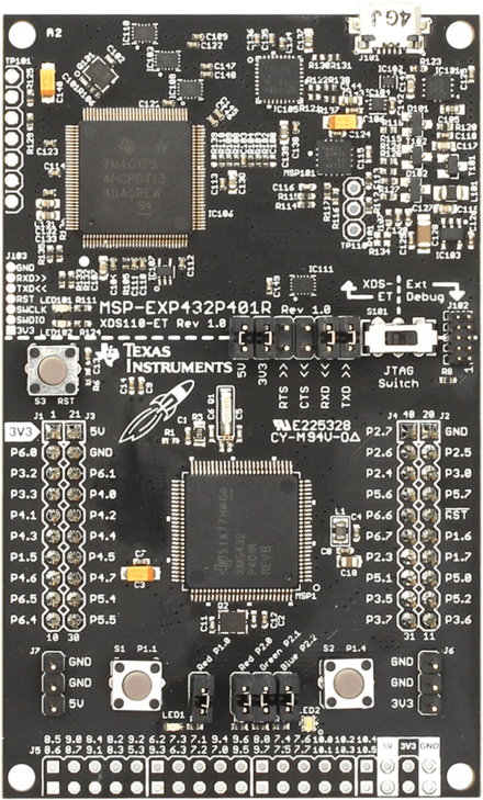TI - MSP EXP432P401R LaunchPad