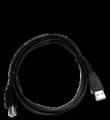 Black Cable USB shadow