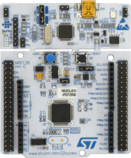 ST - STM32F072RB Nucleo