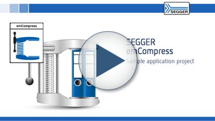 SEGGER emCompress: Sample application project