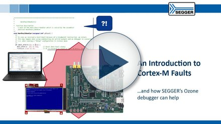 thumbnail introduction to Cortex M faults