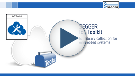 SEGGER IoT Toolkit: IoT library collection for embedded systems