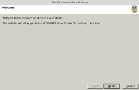 Linux Studio Setup (1/6) Welcome Screen