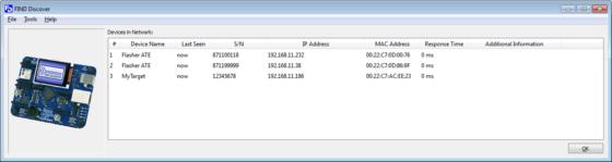 SEGGER Free Utilities - Find Discover QT Windows Screenshot