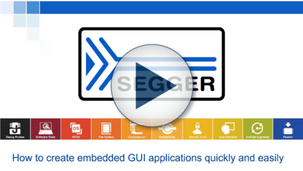 Creating Embedded GUI Applications with SEGGER's AppWizard Quickly & Easily