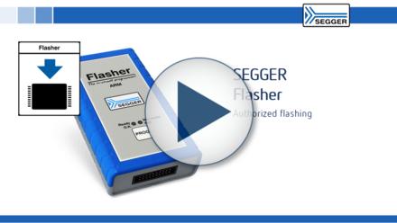 SEGGER Flasher ARM: Authorized flashing