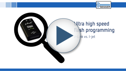Ultra high speed programming: J-Link vs. I-jet