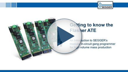 SEGGER Flasher ATE: An introduction to SEGGER's modular in-circuit gang programmer for high volume mass production