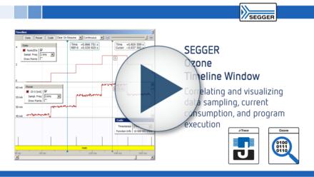 SEGGER Ozone Timeline Window