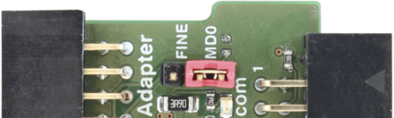 RX Adapter Pinout — JTAG connection