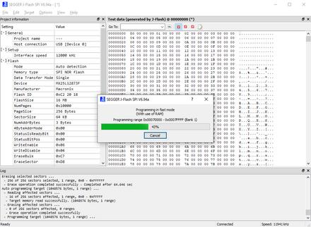 J-Flash SPI Software