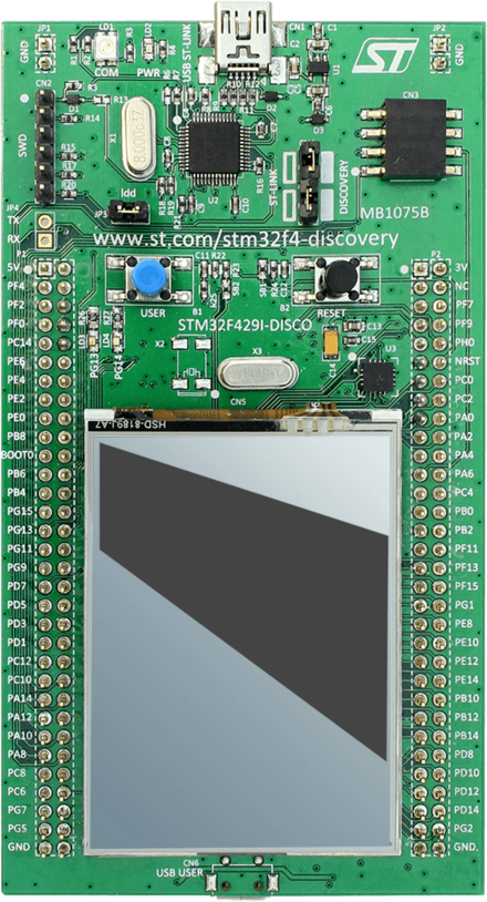 ST - stm32f429i Discovery