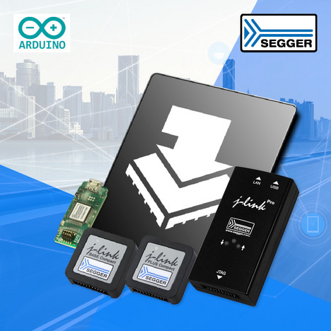 SEGGER News: SEGGER's J-Link now compatible with and available through Arduino