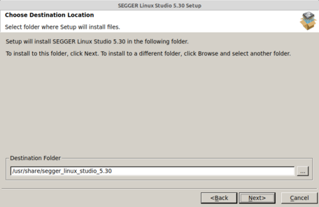 Linux Studio Setup (3/6) Destination