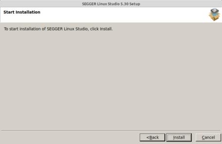Linux Studio Setup (4/6) Start Installing
