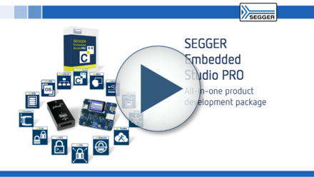SEGGER Embedded Studio PRO: All-in-one product development package