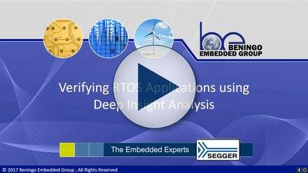 RTOS Applications: Verifying RTOS applications using Deep Insight Analysis