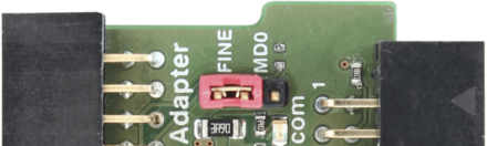 RX Adapter Pinout — FINE connection