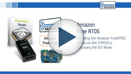 Amazon Free RTOS: Running the Amazon FreeRTOS demo sample application on the STM32L4 Discovery Kit IoT Node