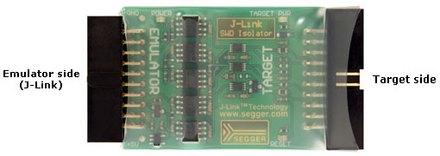 J-Link SWD Isolator ShrinkWrap Notes