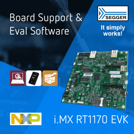 New Eval Software Support for NXP's i.MX RT1170 EVK
