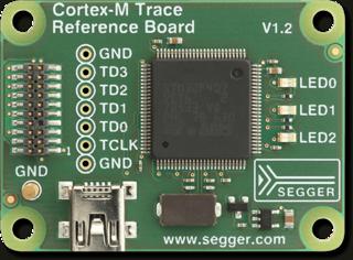 Cortex-M Trace Reference Board