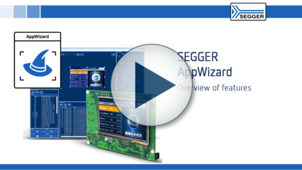 SEGGER AppWizard: Overview of features