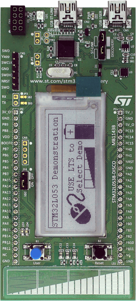 ST-stm32l0538 Discovery