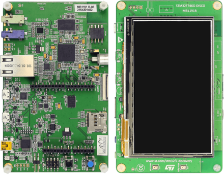 ST - stm32f746g Discovery