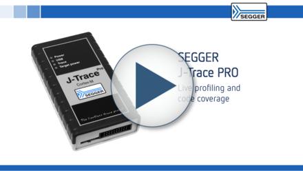 SEGGER J-Trace PRO: Live profiling and code coverage