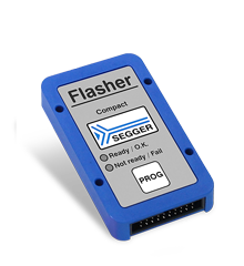 Flasher Compact, blue with SEGGER logo