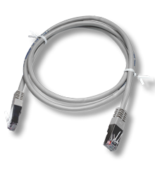 White Ethernet cable