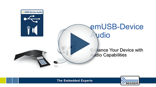 SEGGR - Video Thumbnail emUSB-Device Audio