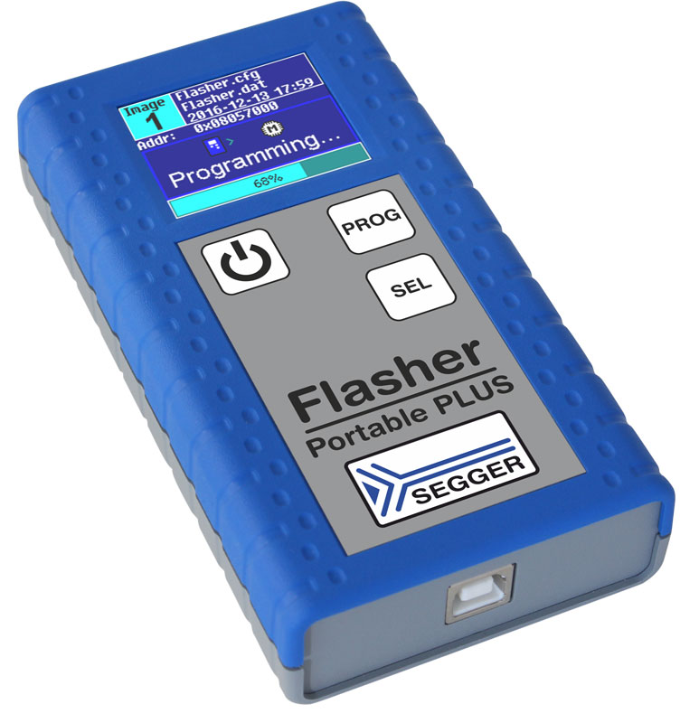 Flasher Portable PLUS - Portable Service Programmer by SEGGER