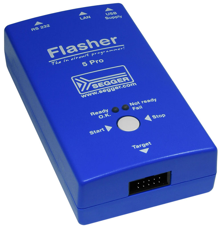 Flasher 5 PRO - Production Programmer by SEGGER