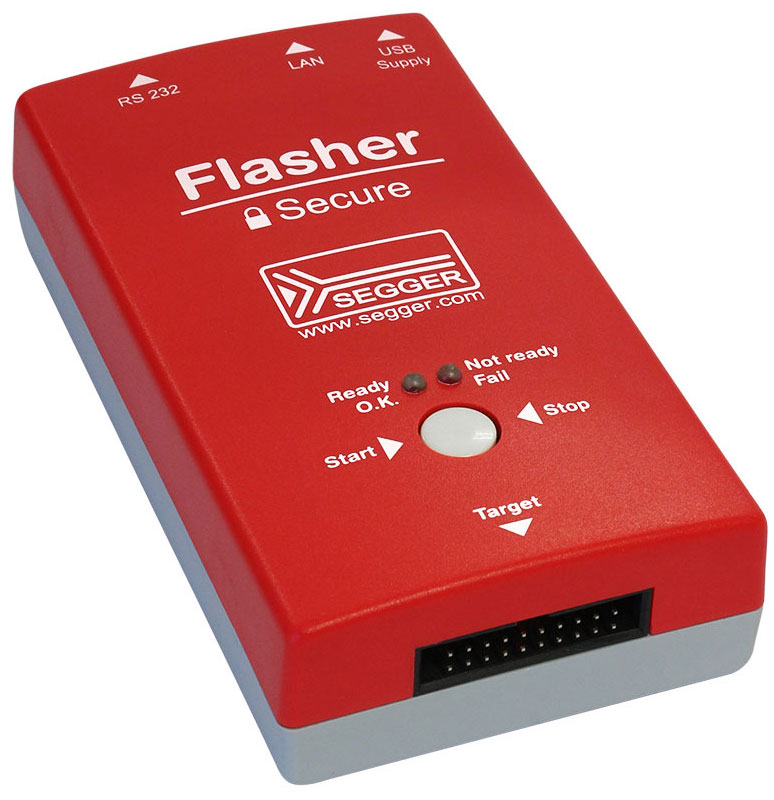 Flasher Secure - Mass Production Programming System by SEGGER