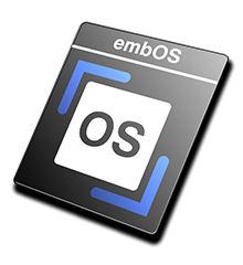 embOS Product Icon - Black