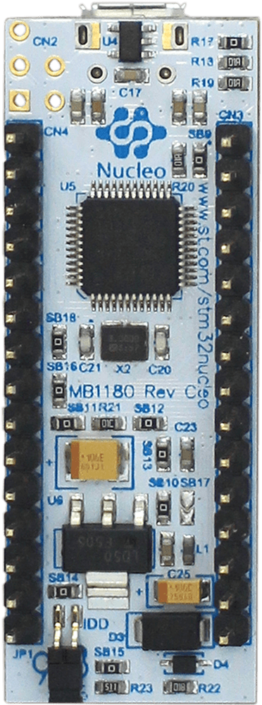 ST - stm32l031k6 Nucleo