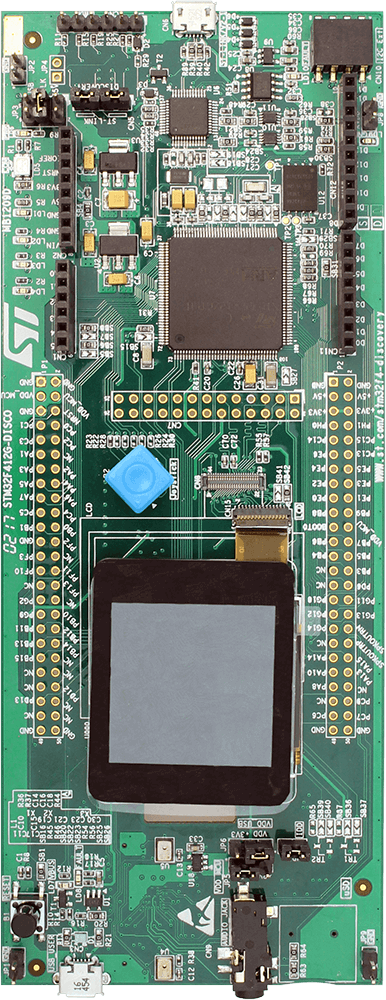 St - stm32f412g Discovery