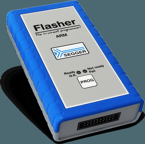 Flasher ARM with SEGGER logo