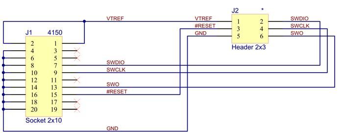 6-Pin Needle Adapter Schematics