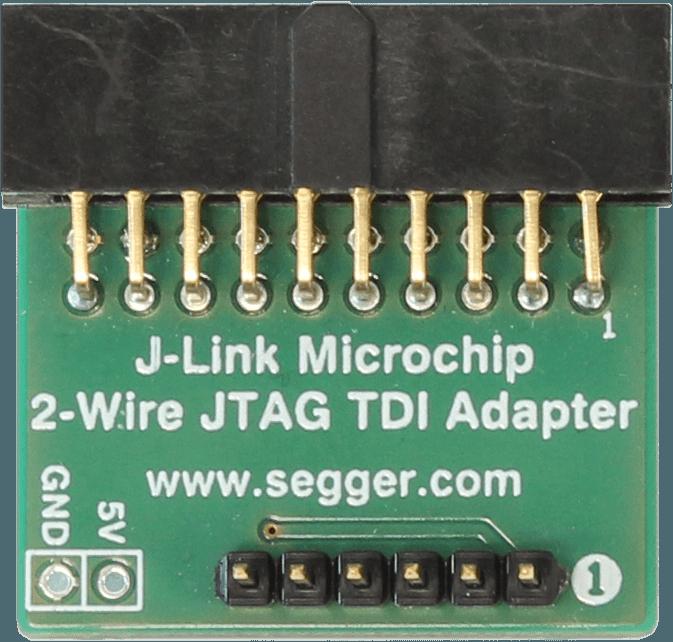 Microchip 2-Wire JTAG TDI Adapter