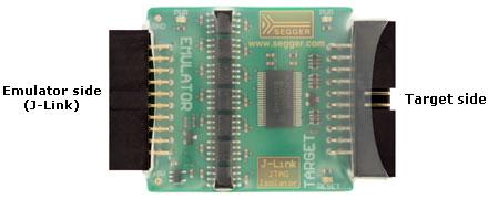 J-Link JTAG Isolator ShrinkWrap Notes